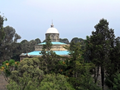View of the 1896 octagonal building of St George's Cathedral; Addis Ababa
