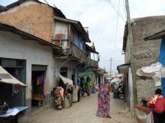 Harar old city scene