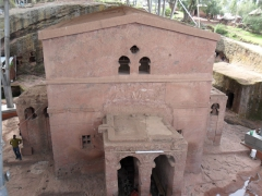 "The ""Bete Mariam"" (House of Mary) was King Lalibela's first project. It is a central church dedicated to the Virgin Mary and it belongs to the first group of Lalibela Churches"