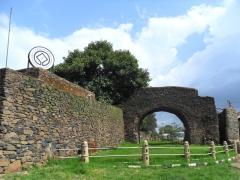 Gondar's magnificent Royal Enclosure Complex is a UNESCO world heritage sight
