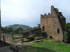 "It is easy to see why Gondar is referred to as the ""Camelot of Africa"", with its numerous castle ruins overlooking verdant fields"