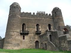 View of Alem-Seghed Fasil's Castle (1632 - 1667); Gondar
