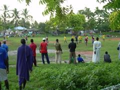 Zanzibaris love their soccer; Nungwi