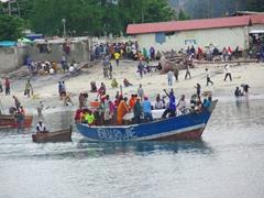Port scene in Dar Es Salaam