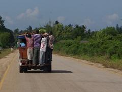 Local transport around the island of Zanzibar