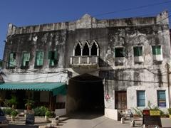 Tunnel leading towards the Arab Fort; Zanzibar