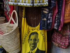 Obama mania has hit Zanzibar (fancy an Obama handbag?)