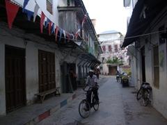 Stone Town street scene