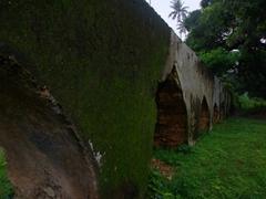 Aqueduct ruins of the Maruhubi Palace; Zanzibar