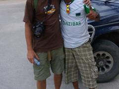 Robby and Ally Keys in Zanzibar