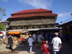 The hustle and bustle of Darajani Market; Zanzibar