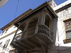 A pretty balcony; Stone Town