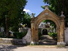 The old Portuguese Arch; Zanzibar's Stone Town