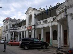 View of the Zanzibar Post Office