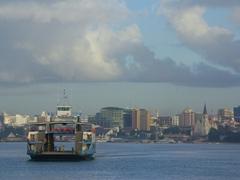 The local ferry in Dar Es Salaam