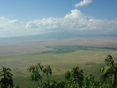 View of Ngorongoro Crater
