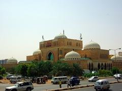 View of a Khartoum mosque