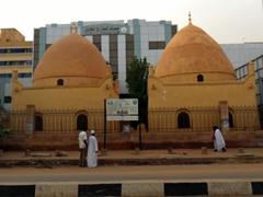 View of Turkish Tombs; Khartoum