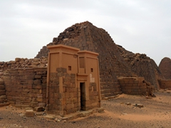 The Pyramids of Meroe earned UNESCO World Heritage status in June 2011