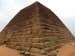 "The pyramids of Meroe are often referred to as ""Nubian Pyramids"" due to their unique size and proportions. They were built to serve as tombs for the Kings and Queens of Meroe and Napata"