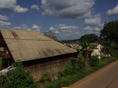 Gabon's apparent wealth impressed us immediately with well paved roads and smartly built houses