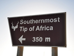 Finally, five months after our start in Morocco, we have almost made it to the southernmost tip of Africa at Cape Agulhas