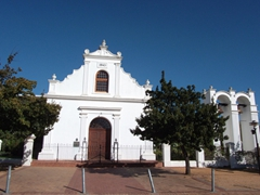 A circa 1840 church; Stellenbosch