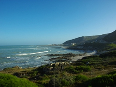 View of Cape Agulhas' coastline