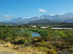 Gorgeous road side scenery near Karoo
