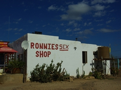 Ronnie's Sex Shop is a bit of a must see on the Garden Route circuit. Despite its name, its actually a popular bar where undies can be donated