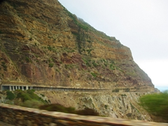 The engineering marvel of Chapman's Peak results in a stunning road cutting through sheer cliffs, offering spectacular views all around