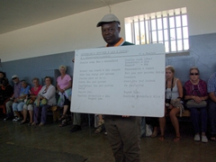 An ex-prisoner describes his experience on Robben Island