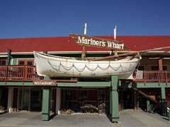 Mariner's Wharf restaurant; Hout Bay