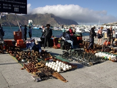 Touristy kitsch for sale; Hout Bay