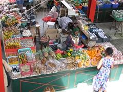 Bird's eye view of Sir Selwyn's market