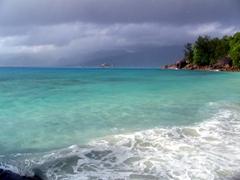 Anse Soleil beach, West coast of Mahe