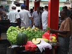 Fresh fruit for sale; Victoria market