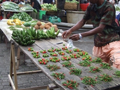 Hot chilies for sale; Victoria