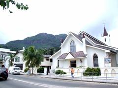 Downtown Victoria church; Mahe