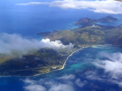 Another aerial view of the Seychelles