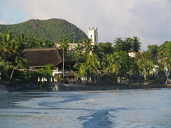 Picturesque view of Beau Vallon