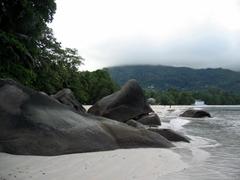 Beau Vallon boulders