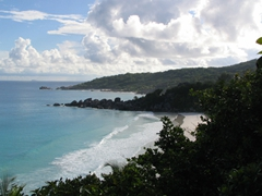 View of Petite and Grande Anse beaches