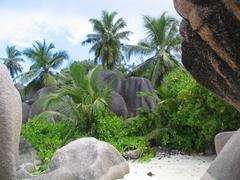 The magnificent boulders of Anse Source d'Argent