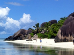 Anse Source d'Argent is a magnificent beach that definitely lives up to all the hype