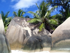 Giant boulders of Anse Source d'Argent