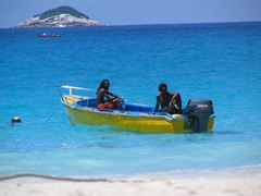 Anse Lazio beach is absolutely amazing…crystalline blue waters make for a snorkeler's delight
