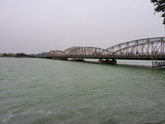 View of the main bridge to St-Louis