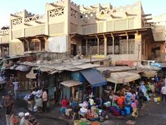 Dakar street scene