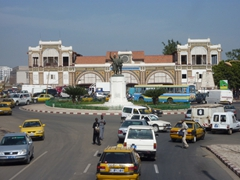 View of Dakar's old train station